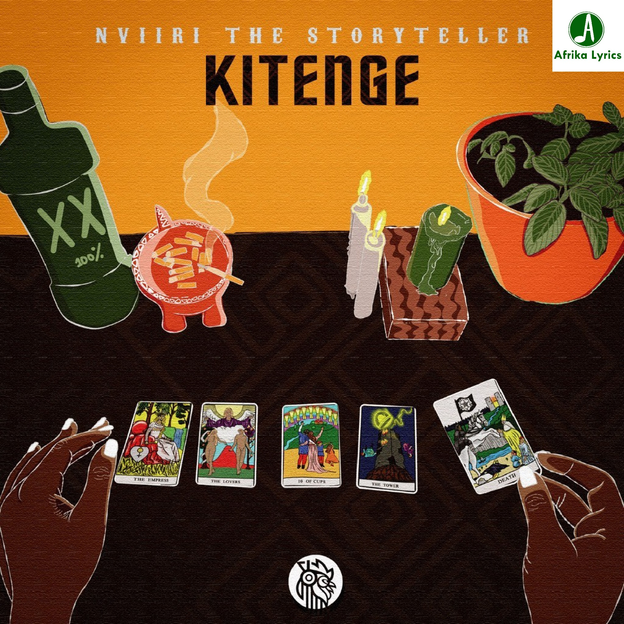 Kitenge by NVIIRI THE STORYTELLER - Album Tracklist and Lyrics | AfrikaLyrics